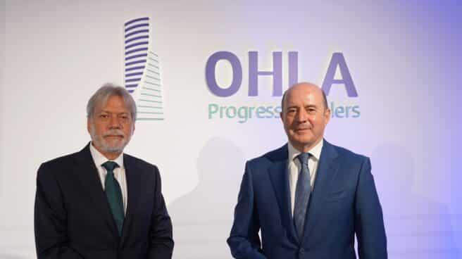 Luis Amodio, presidente de OHLA; y José Antonio Fernández Gallar, CEO de OHLA.