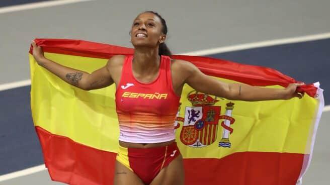 Ana Peleteiro será una de las estrellas de la delegación española de atletismo en los Juegos Olímpicos de Tokio 2021.