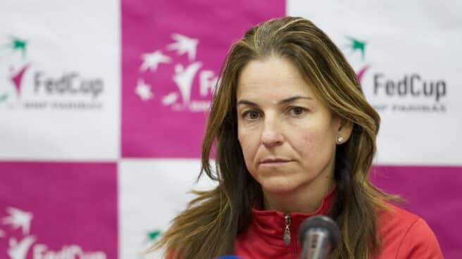 Arantxa Sánchez Vicario.