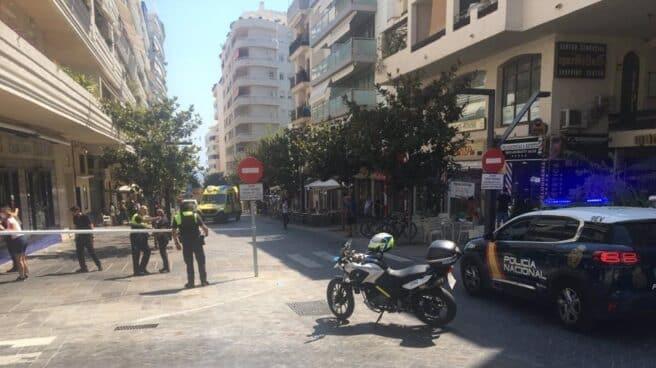 Calle de Marbella donde ha ocurrido el atropello.