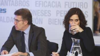 Ayuso y Feijóo harán coincidir sus bajadas de impuestos con la negociación de los Presupuestos de Sánchez