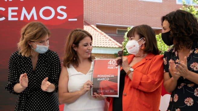 Lastra y Narbona, con la Ponencia Marco del PSOE.