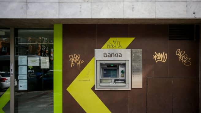 Un cajero de Bankia