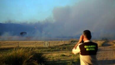 Sigue activo el incendio en Monte Yerga (La Rioja), Reserva de la Biosfera