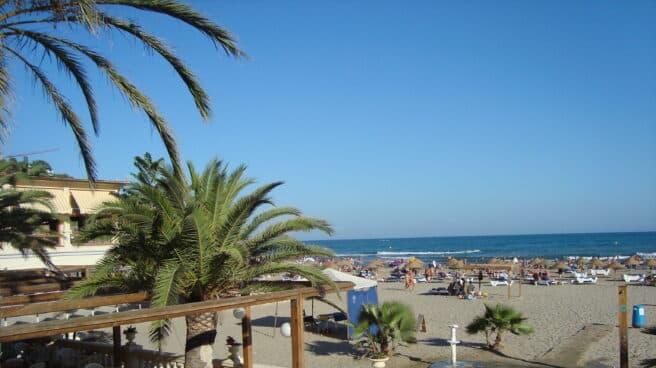 Playa de Benicasim (Castellón).