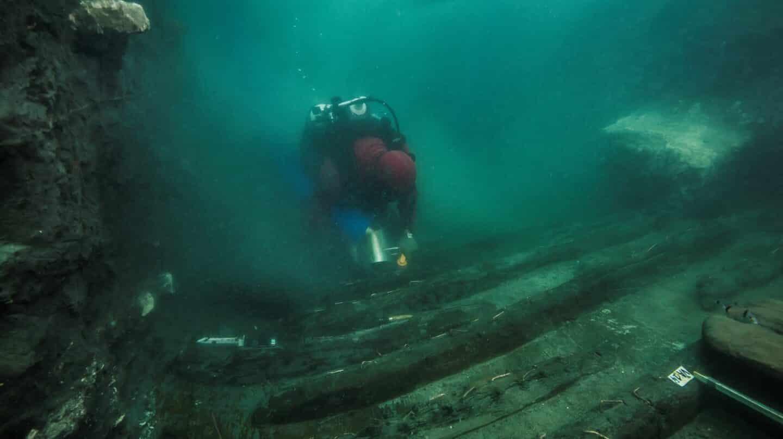 La galera faraónica que sobrevivió dos milenios bajo las aguas