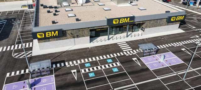 Imagen del supermercado BM en Majadahonda (Madrid).