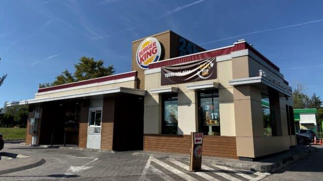Foto del restaurante de comida rápida Burger King.