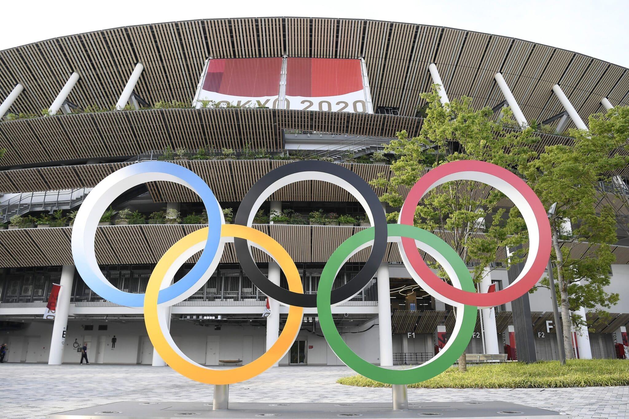 El Estadio Nacional de Tokio, sede principal de los Juegos Olímpicos de Tokio 2020