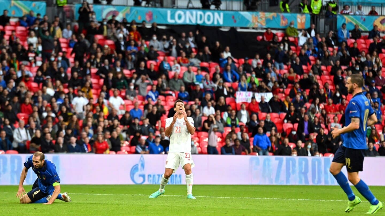 España queda eliminada de la Eurocopa tras caer ante Italia en la tanda de penaltis