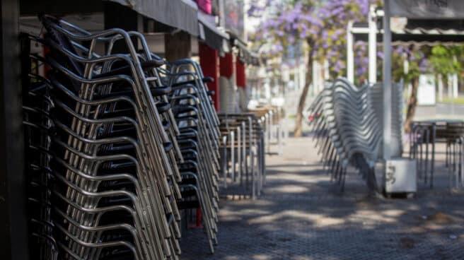 Terraza cerrada en Santander.