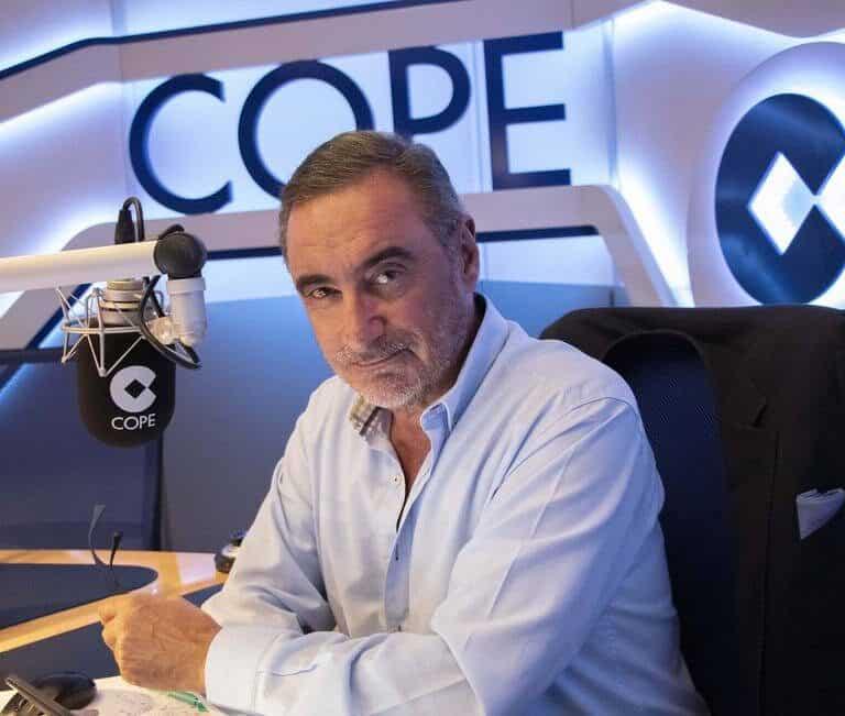 Carlos Herrera recorta audiencia con la 'SER', según el último EGM