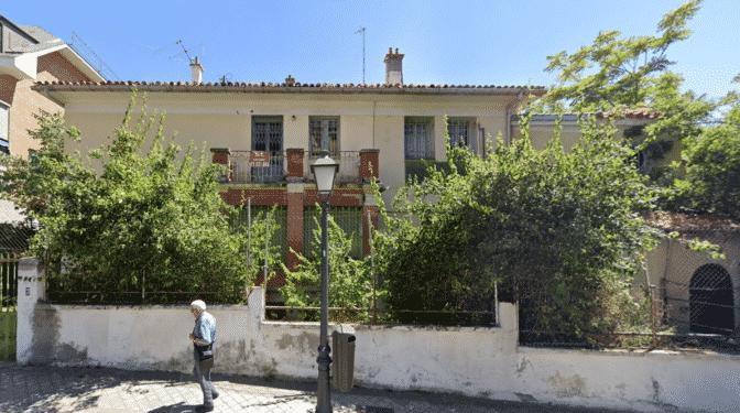 """Convocan una concentración en Madrid por la """"protección y salvaguarda"""" de la casa de Vicente Aleixandre"""