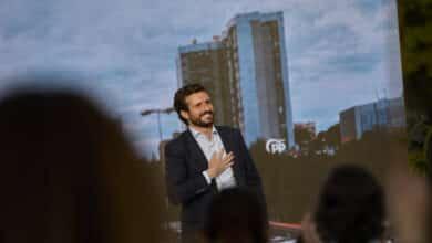 Tercer aniversario del líder del PP: Pablo Casado sella el partido y mira a Moncloa