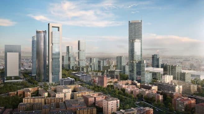 Imagen que recrea cómo quedará la zona tras el proceso de urbanización.