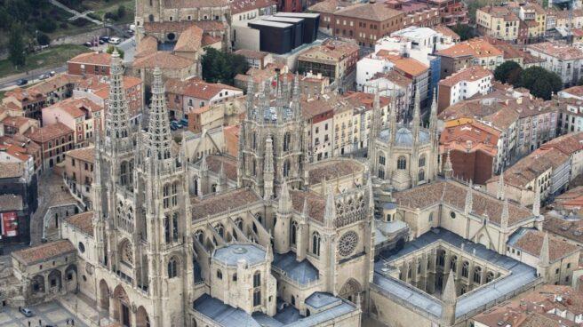 Imagen aérea de la Catedral de Burgos