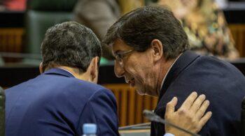 """El vodevil granadino, munición contra el Gobierno de coalición andaluz: """"Estamos blindados"""""""