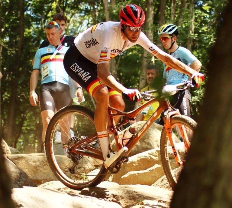 David Valero consigue la segunda medalla para España: bronce en mountain bike