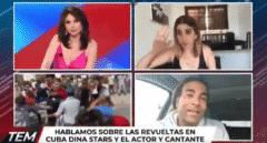 El régimen cubano detiene a una activista mientras daba una entrevista en directo con Cuatro
