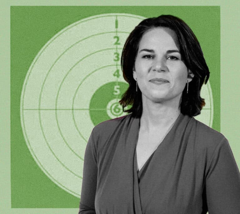 Annalena Baerbock, la líder verde alemana en el punto de mira
