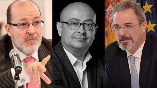 Los catedráticos Javier Díaz Revorio, José Manuel Vera Santos y Carlos Flores Juberías.