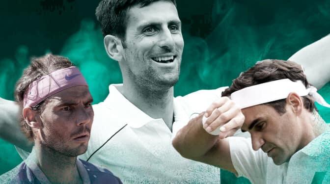 Quién es el mejor de la historia: los datos que sitúan a Djokovic por encima de Federer y Nadal