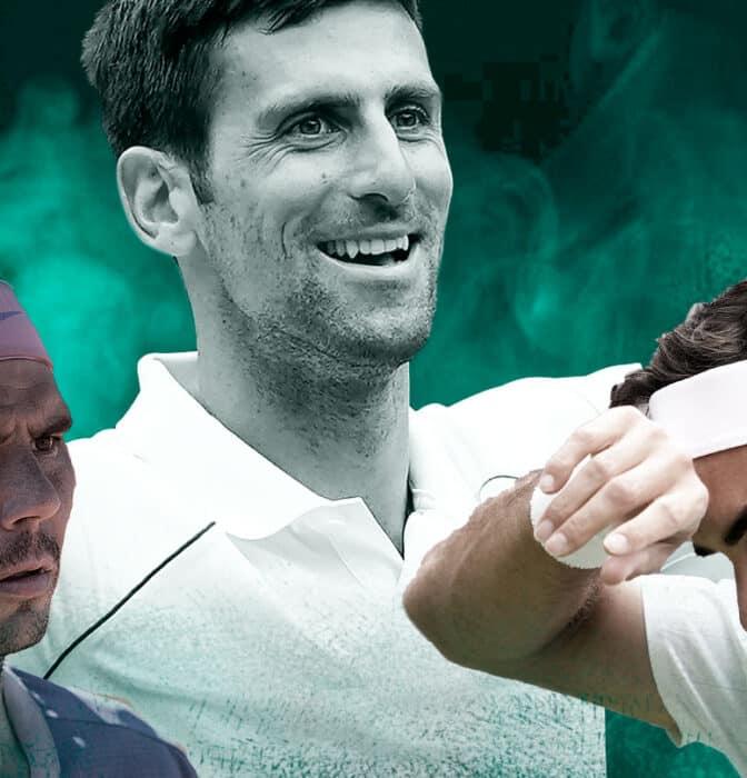"""El debate del """"GOAT"""": los datos que sitúan a Djokovic por encima de Federer y Nadal"""