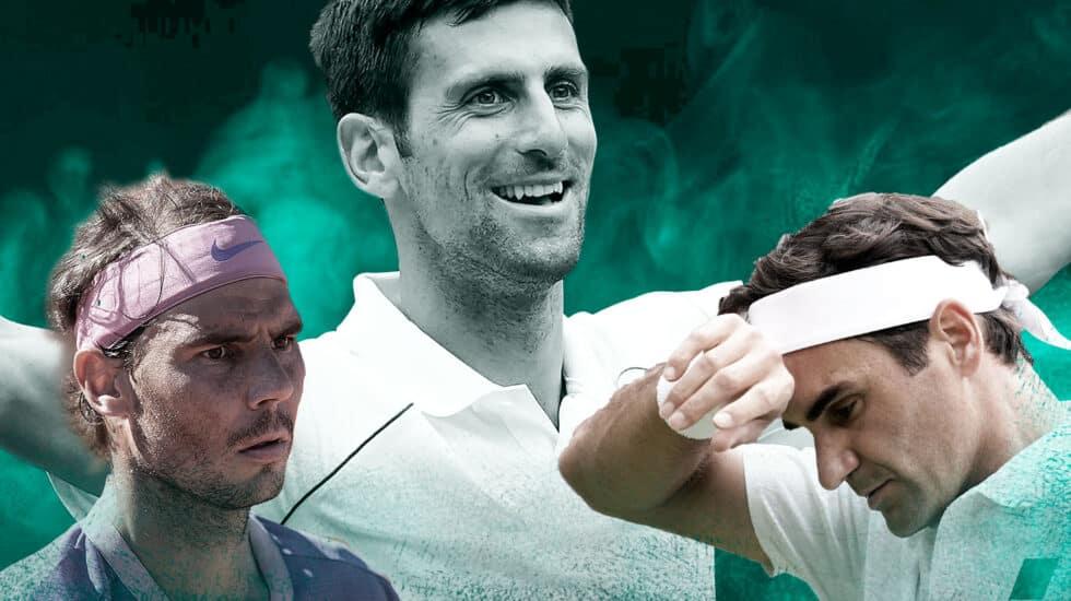 Djokovic igualó este domingo los 20 Grand Slam de Federer y Nadal