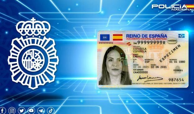 Nuevo modelo de documento nacional de identidad electrónico.