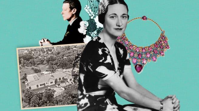 Collage de Eduardo VIII y Wallis Simpson