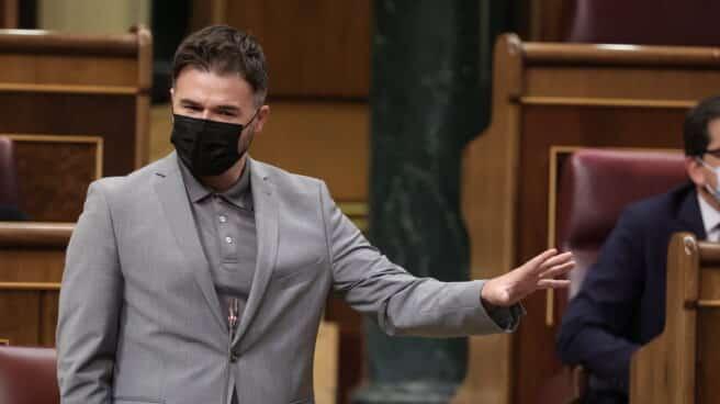 El portavoz de Esquerra Republicana en el Congreso, Gabriel Rufián