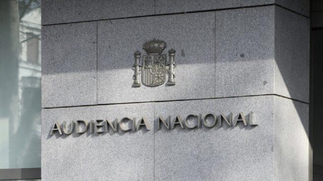 Fachada de la Audiencia Nacional (Madrid).