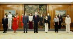 Los nuevos ministros de Sánchez prometen sus cargos ante el Rey