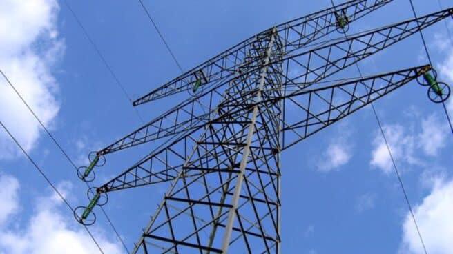 Torre de electricidad en España