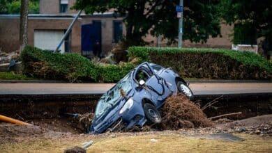 Aumentan a 156 los fallecidos por las inundaciones en Alemania