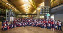 La expedición olímpica española ya está en Tokio