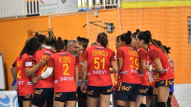 Las Guerreras, durante un partido de preparación para los Juegos Olímpicos de Tokio.