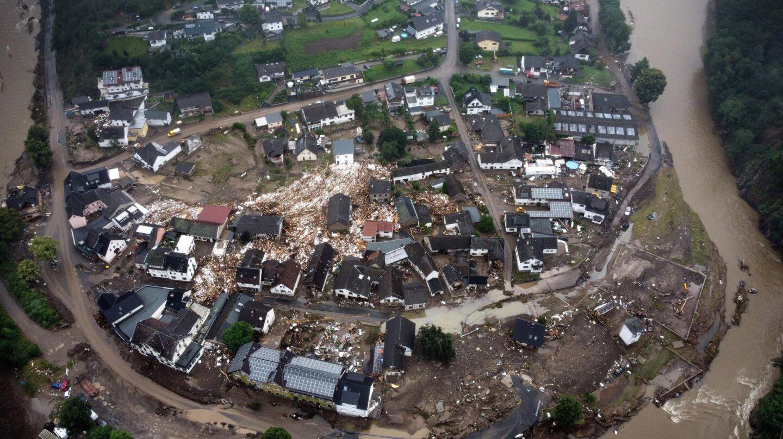 Tragedia en Alemania: al menos 93 muertos y más de 1.000 desaparecidos en las inundaciones
