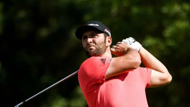 El golfista Jon Rahm, máximo favorito en los Juegos Olímpicos de Tokio.