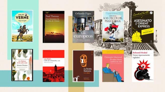 Libros para leer en los trenes este verano.