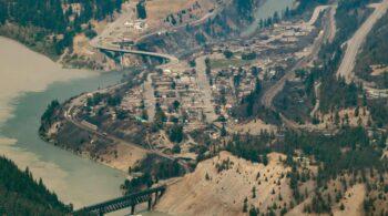 La doble tragedia de Lytton: el pueblo de Canadá que llegó a 50ºC queda arrasado por un incendio