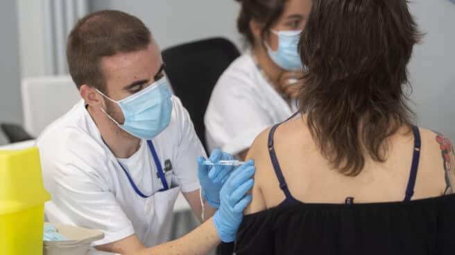 Vacunación en Madrid.