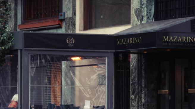 Terraza y entrada de Mazarino.