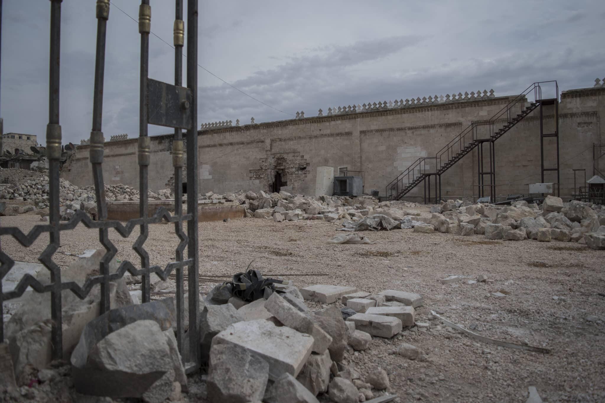 Recinto de la Gran Mezquita de los Omeyas de Alepo