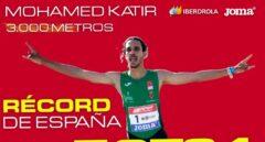 Mohamed Katir bate el tercer récord de España en un mes y llega eufórico a Tokio 2021