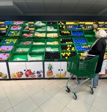 Las provincias donde es más caro y más barato hacer la compra en el supermercado