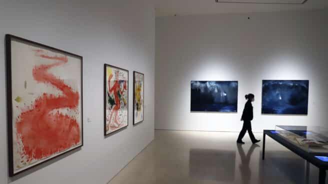 Presentación de la nueva muestra 'Miquel Barceló. Metamorfosis', en el Museo Picasso de Málaga