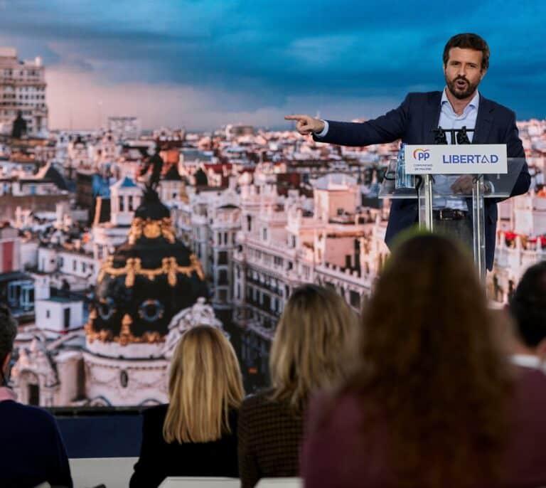 El PP ganó 4.600 afiliados en 2020 y remonta tras la crisis por la irrupción de Vox
