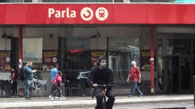 Estación de Renfe de Parla.