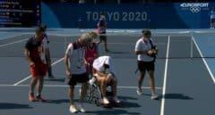 La tenista Paula Badosa se retira tras sufrir un golpe de calor